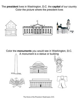 Presidents and American Symbols--Engage NY--Common Core--Kindergarten--Domain 12