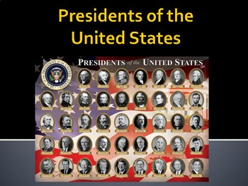 Presidents and Vice Presidents PowerPoint Bundle