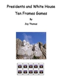 Presidents and White House Ten Frames Games