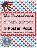 Presidents of Mount Rushmore - Fact Posters