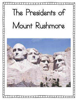 presidents of mount rushmore fact posters by jen wood tpt. Black Bedroom Furniture Sets. Home Design Ideas