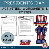 Presidents of the USA Activity and Poster Bundle #POTUS #P