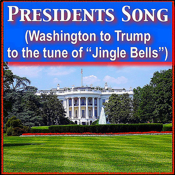 """Presidents of the USA mp4 Sing along to tune of """"Jingle Bells"""" Kathy Troxel"""