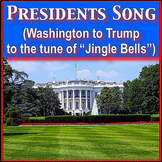 "Presidents of the USA mp4 Sing along to tune of ""Jingle Bells"" Kathy Troxel"