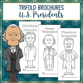 Presidents of the United States Biography Trifold Brochures