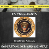 Presidents of the United States Digital Break Out DBQ Activity