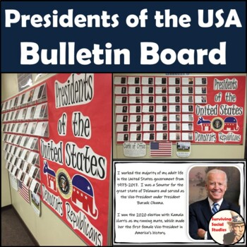Presidents of the United States Bulletin Board