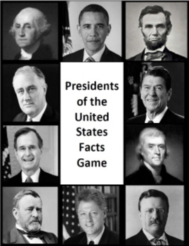 Presidents of the United States Facts Game