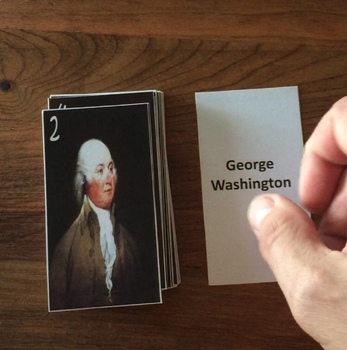 Presidents of the United States Flash Cards