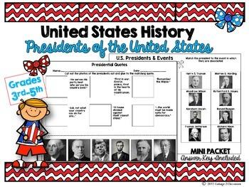 Presidents of the United States: MINI Unit