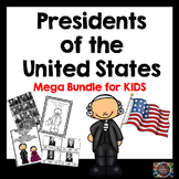 Presidents of the United States Elementary Activities
