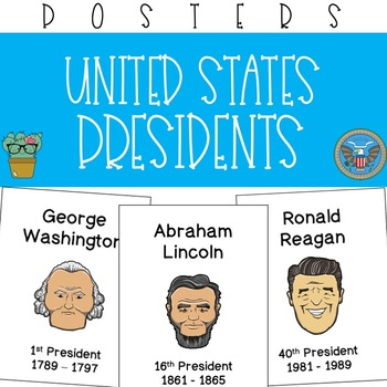Presidents of the United States Posters