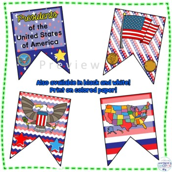 Presidents of the United States of America Inspirational Quote Banner