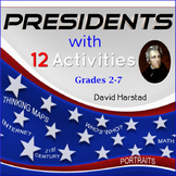 US History: Presidents' Day Graphic Organizers