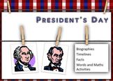 Presindent's Day 2014 activities