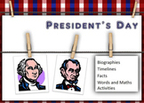 Presindent's Day 2014 activities bundle