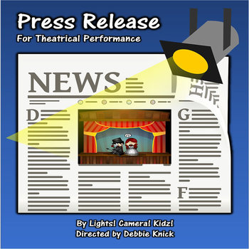 Press Release for Theatrical Production