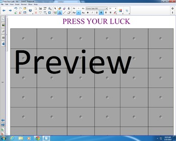 Press Your Luck Review Game