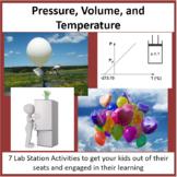 Pressure, Volume, and Temperature - Lab Station Activity