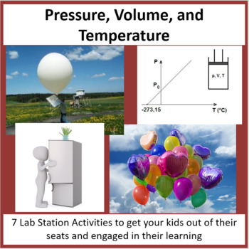 Pressure, Volume, and Temperature - Lab Station Activity
