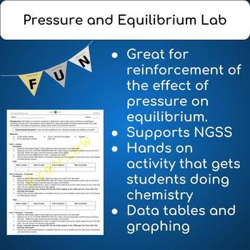Pressure and Equilibrium Lab
