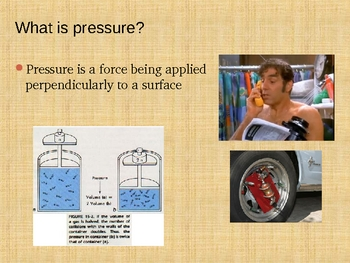 Pressure and the Behaviour of Fluids