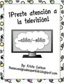 ¡Preste atención a la television!