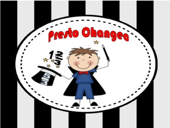 Presto Changeo: An Improper and Mixed Numbers Fraction Game