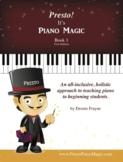 Presto! It's Piano Magic, Book 1
