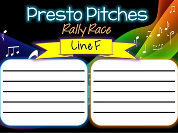 Presto Pitches - Rally Race!
