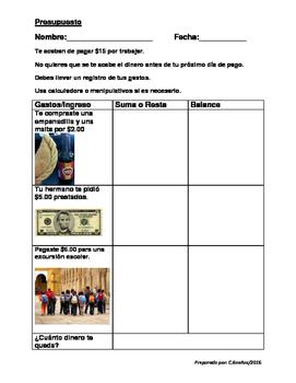 Presupuesto para estudiantes Vida Independiente, Educacion Especial