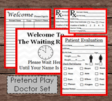 Pretend Doctor Evaluation Check Up Exam - First Aid - Nurse Kids Dramatic Play