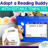 Adopt A Pet Reading Buddy | Pretend Pet Adoption Pack for