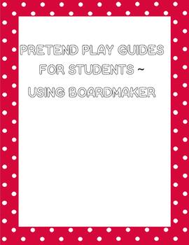 Pretend Play Boardmaker signs