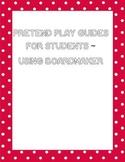 Pretend Play Boardmaker signs