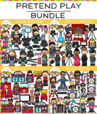 Pretend Play Clip Art Bundle {Community Helpers Clip Art}