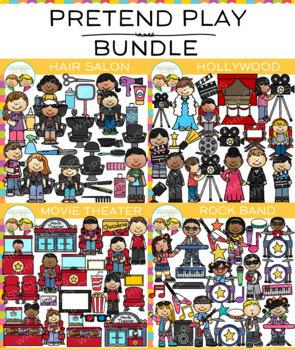 Pretend Play Clip Art Bundle {Community Helpers Clip Art}