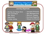 Pretend Play Learning Center Sign~ With Objectives