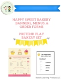 Pretend Play Menus for Your Bakery