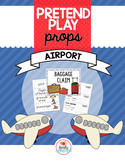 Pretend Play Props- Airport