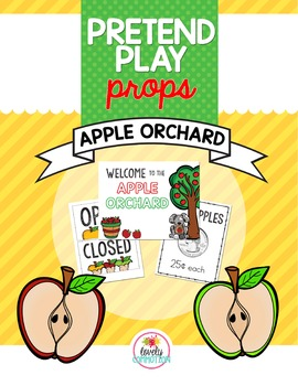 Pretend Play Props- Apple Orchard