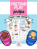 Pretend Play Props- Baby Care Center