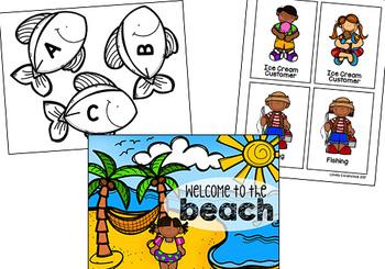 Pretend Play Props- Beach