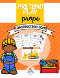 Pretend Play Props- Construction Zone