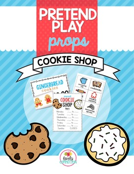 Pretend Play Props- Cookie Shop