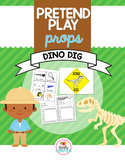 Pretend Play Props- Dinosaur Dig