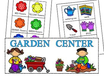 Pretend Play Props- Garden Center