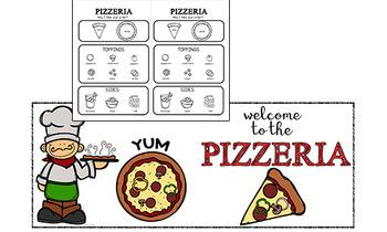 Pretend Play Props: Pizza Shop