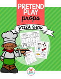 Pretend Play Props: Pizza Shop