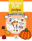 Pretend Play Props- Pumpkin Patch
